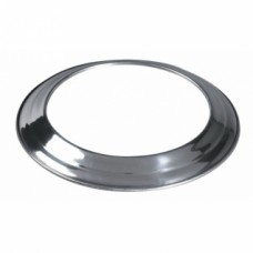 Rosace aluminium pour gaine accordéon - Diamètre 110/116