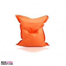 Housse Pour Pouf Géant Sans Bille - Couleur Orange