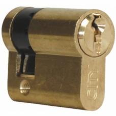 Cylindre simple de sûreté - Profil européen s entrouvrant sur numéro - Laiton poli - Série City 5G