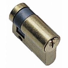 Demi cylindre TE-5 varié, laiton poli