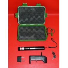 Laser stylo pointeur en coffret 532nm 3,7V avec 2 clefs