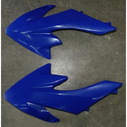 Carénage ouïes gauche et droit bleu CRF50