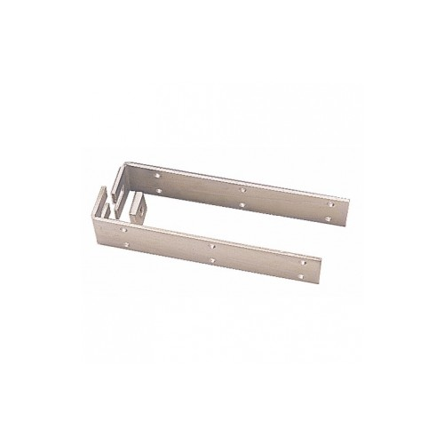 Chapes de fixation pour rail de porte coulissante for Fixation rail porte coulissante