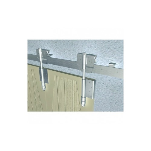monture galet bob 50 pour ferrures porte coulissante sur fer plat. Black Bedroom Furniture Sets. Home Design Ideas
