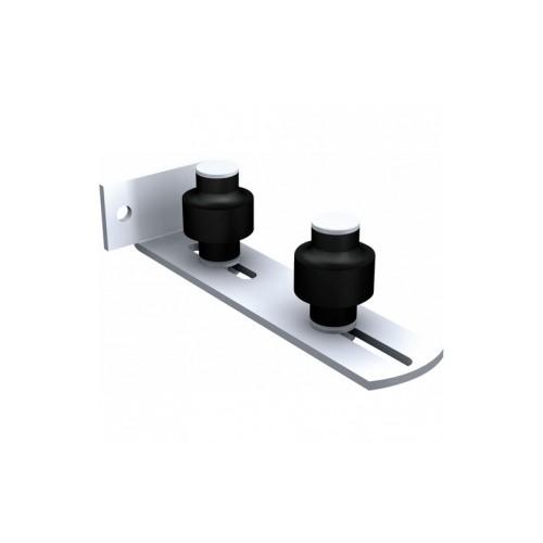 guide visser horizontal 1092 v pour porte coulissante. Black Bedroom Furniture Sets. Home Design Ideas