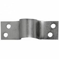 Crampons à visser pour verrou de box ou verrou à douille acier zingué - Pêne : 10 mm