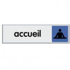 Plaquettes signalétiques -Accueil