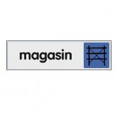 Plaquettes signalétiques -Magasin