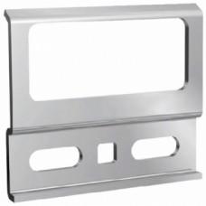 Ferrures de fixation d'éléments hauts - Plaquette de fixation anti-décrochement pour boitiers 816AS