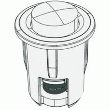 Amortisseur de butée de façade à enfoncer dans le montant du caisson