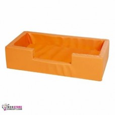 Mini piscine Sans balles, Dim :100 x 50 x 25 Couleur Orange