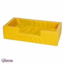 Mini piscine Sans balles, Dim :100 x 50 x 25 Couleur Jaune