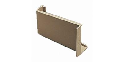 Ferrures de fixation d'éléments hauts - Caches de boîtier 806 - Boîte de 5 - Beige