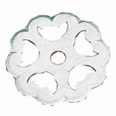 Rosaces pour boutons et poignées rustique fer - Diamètre 40 mm