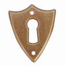 Petites entrées écusson - Laiton bronze
