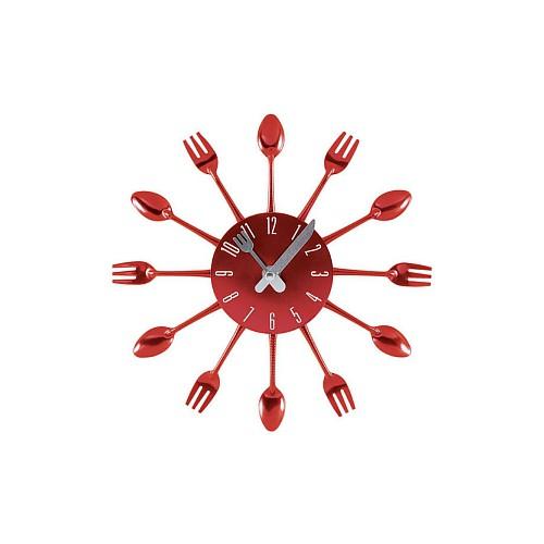 Pendule métal fourchette et cuillère