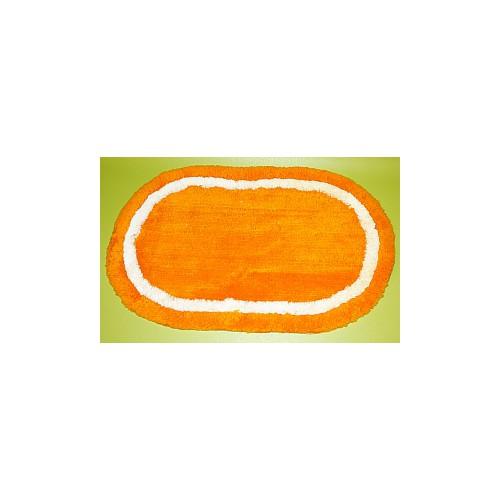 Tapis de bain orange 2eme choix