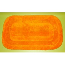 Tapis de bain orange