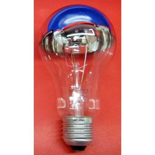 Ampoule incandescente standard calotte argentée E27