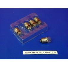 Ampoule Orbitec E10 11x23 12v 250mA 3w