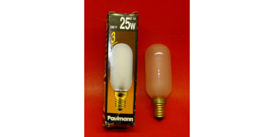 Ampoule incandescence tube cylindrique E14 25w