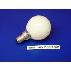 Ampoule sphérique E14 25watts Tungsram