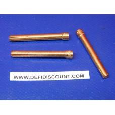 x3 pinces étau Ø1mm-040 pour torche Tig 50mm