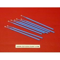 Tige pointe fine 2.5mm micro retouche bleu carrosserie