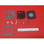 Kit membrane et joints 11 pièces carburateur Zama RB-20
