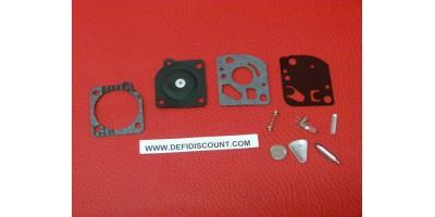 Kit membrane et joints 10 pièces carburateur Zama RB-21