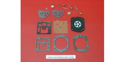 Kit membrane et joints 18 pièces carburateur Walbro K20-HDA