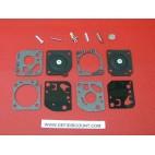 Kit membrane et joints 14 pièces carburateur ZAMA RB-29