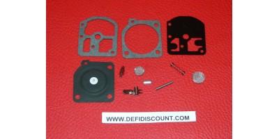 x10 Kits 11 pièces joints et membrane carburateur Zama RB-02