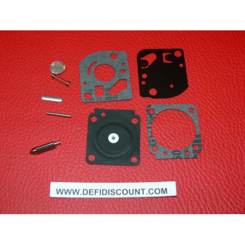 Kit 9 joints et membrane carburateur RB-23 ZAMA