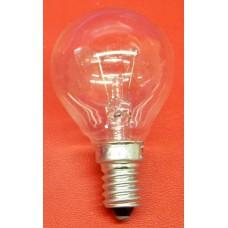 Ampoule sphérique clair E14 vissée