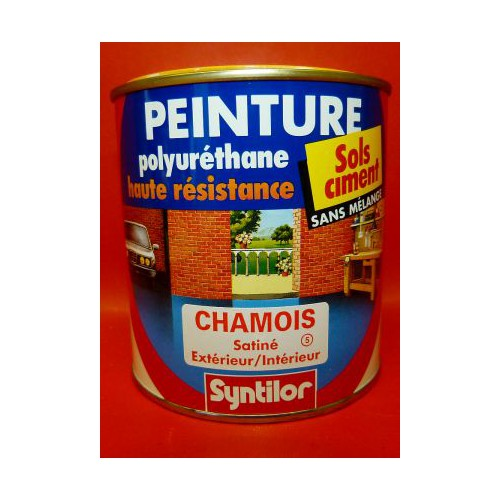 peinture sol syntilor polyur thane 500ml couleurs aux choix. Black Bedroom Furniture Sets. Home Design Ideas