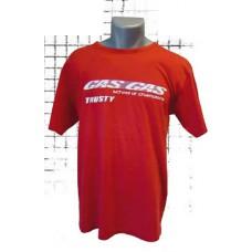 Maillot tee shirt rouge Gasgas