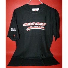 Maillot tee shirt Gasgas Racing Team noir
