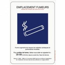 Panneaux de réglementation antitabac