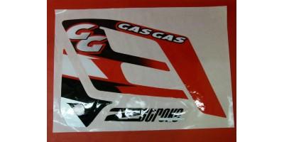 Autocollants x15 Gasgas enduro 250 - 2004