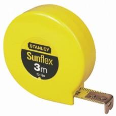 Mesure roulante courte sans blocage - ruban boitier plastique - Sunflex