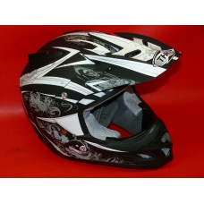 Casque Cross billard THH TX-22 noir
