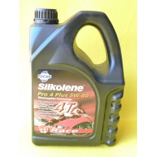 Huile Silkolene 5W-40 4Temps Race PRO 4 Plus