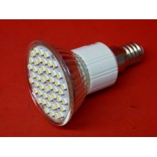 Ampoule Leds spot E14 48 leds blanc pure