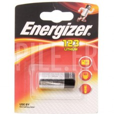 Pile lithium type 123 - 3 volts