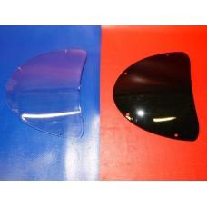Bulle pocket bike transparente ou noir