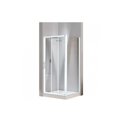 Porte de douche coulissante lunes p for Porte 3 panneaux