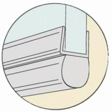 Joint tubulaire bas pour porte de douche - longueur 1 m