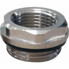 Réduction mâle 15x21 - femelle 5x10 pour radiateur acier