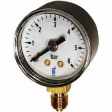 Manomètre vertical à boîtier sec en ABS - diamètre 63 mm